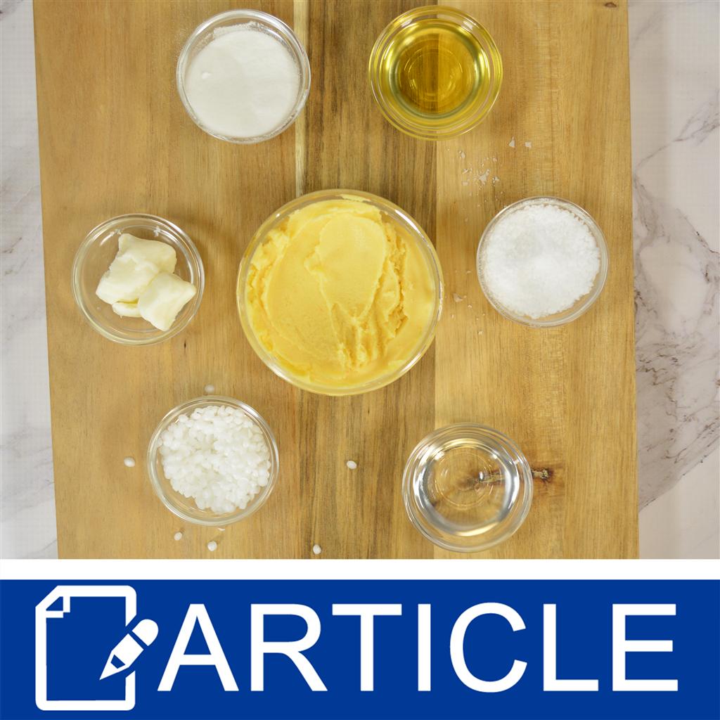 Tips for Formulating: Emulsified Sugar Scrubs - Wholesale Supplies Plus