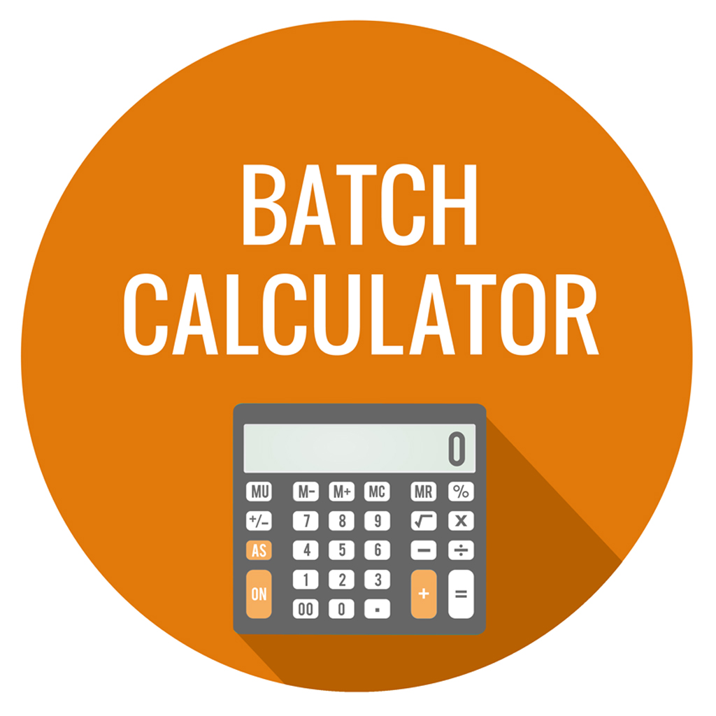 How to use lotion batch size calculator youtube.