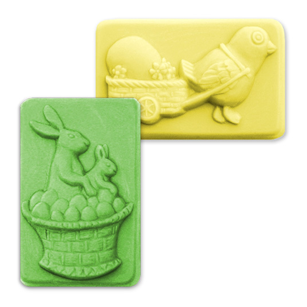 Basket Making Supplies Basket Molds : Milky way eggs in a basket soap mold mw