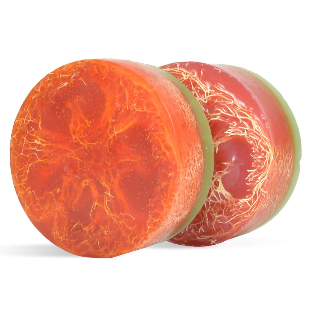 sliced tomato luffa soap making kit wholesale supplies plus