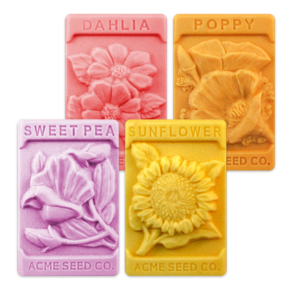 Milky Way Vintage Flower Seeds Soap Mold Mw 180 Wholesale