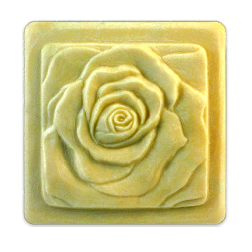 Milky Way Bas Relief Rose Soap Mold Mw 183 Wholesale
