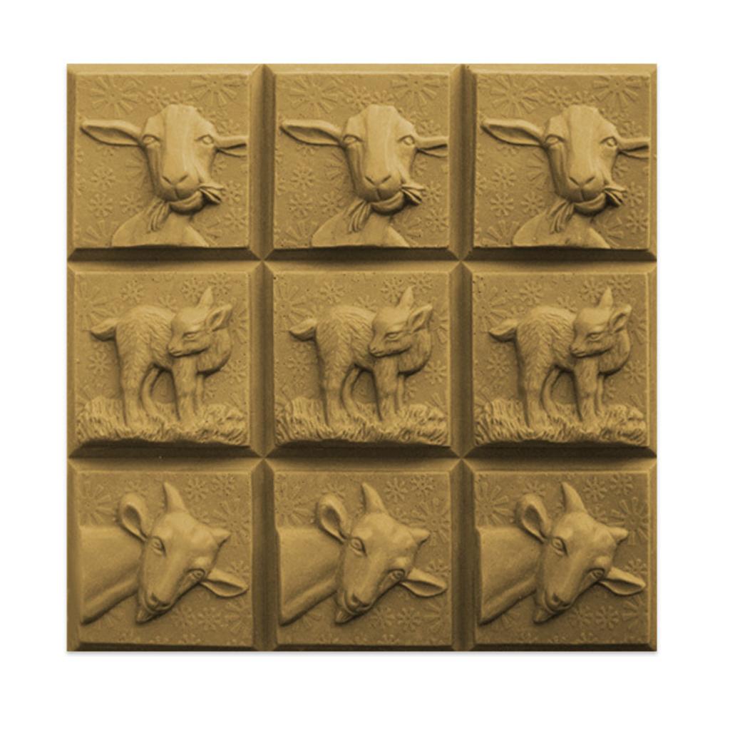 Milky Way™ Goats Three Soap Mold Tray (MW 188) - Wholesale Supplies Plus