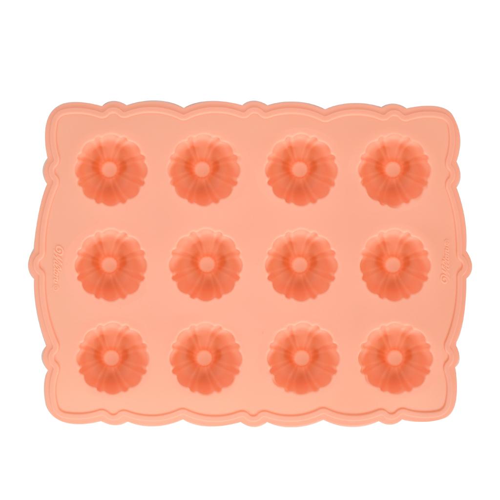 Bundt Cake (12 Mini) Silicone Mold - Wholesale Supplies Plus