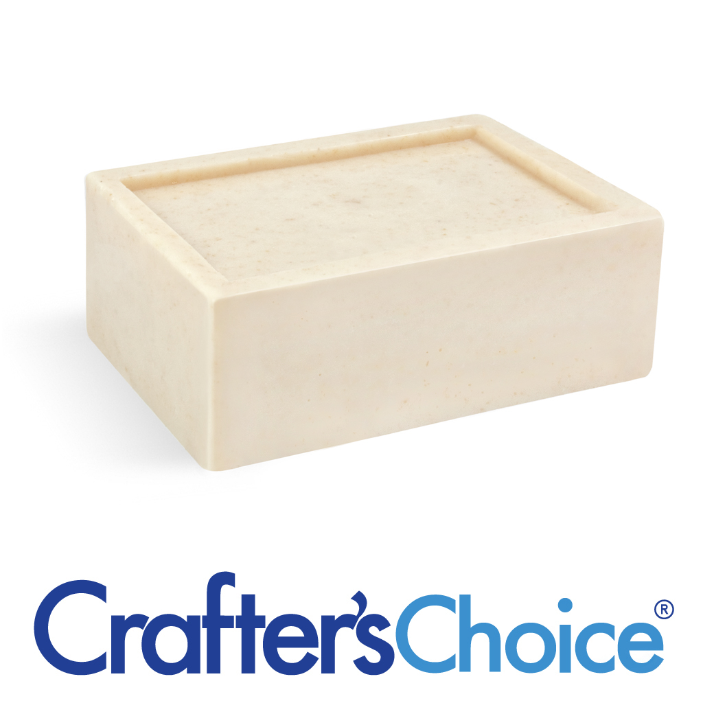 Crafter's Choice™ Detergent Free Oatmeal MP Soap Base - 10 lb Block