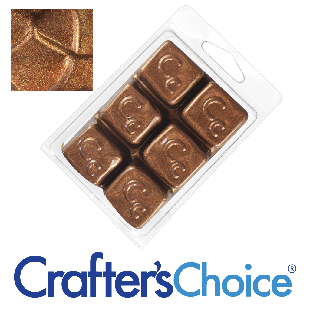 Crafters Choice™ Gingerbread Brown Sparkle Mica Soap Color Blocks