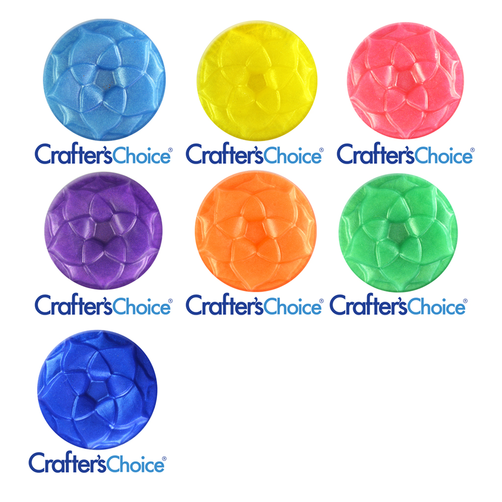 Crafter's Choice™ Rainbow Mica Powder Sample Set