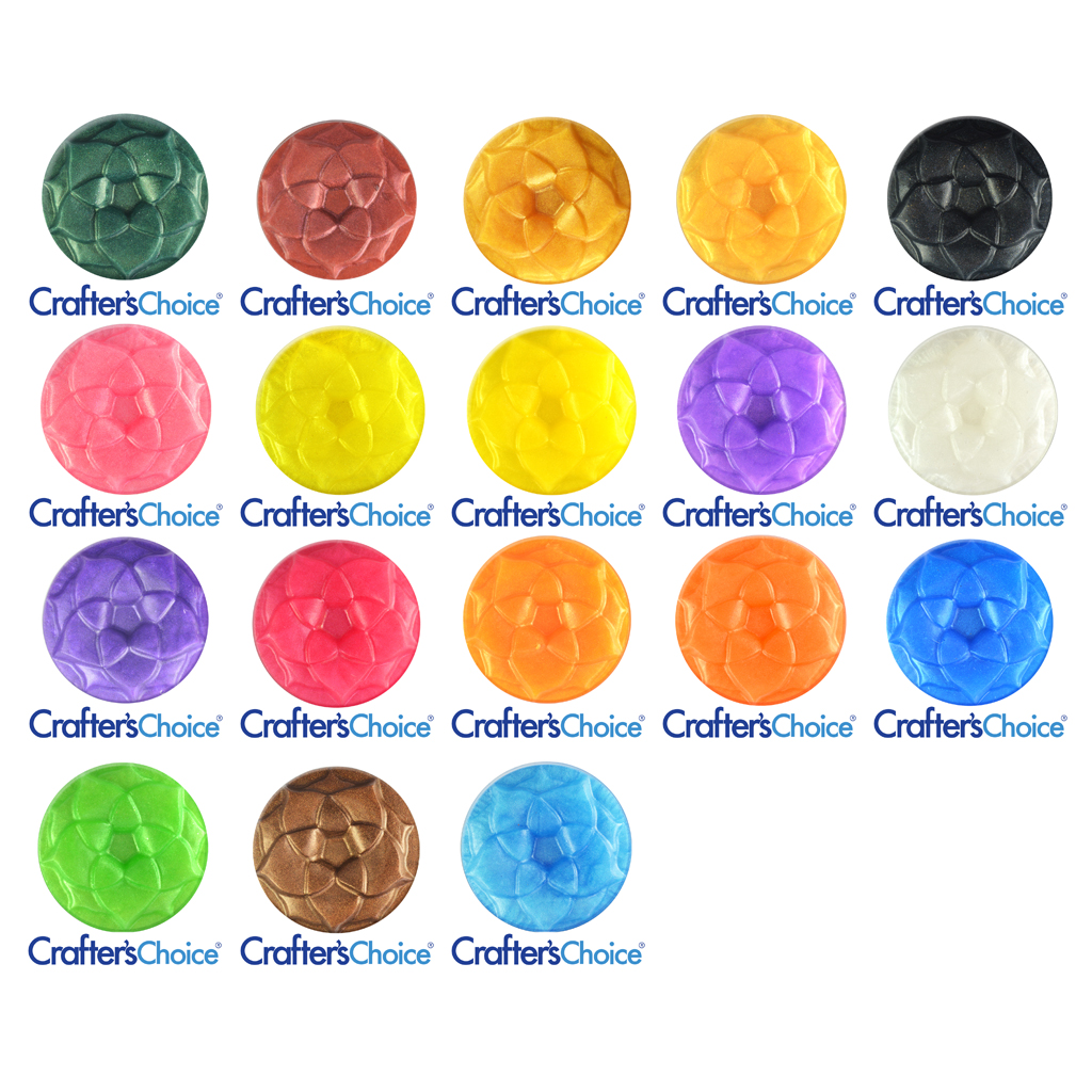 Crafter's Choice™ Best Starter Colors Mica Powder Sample Set