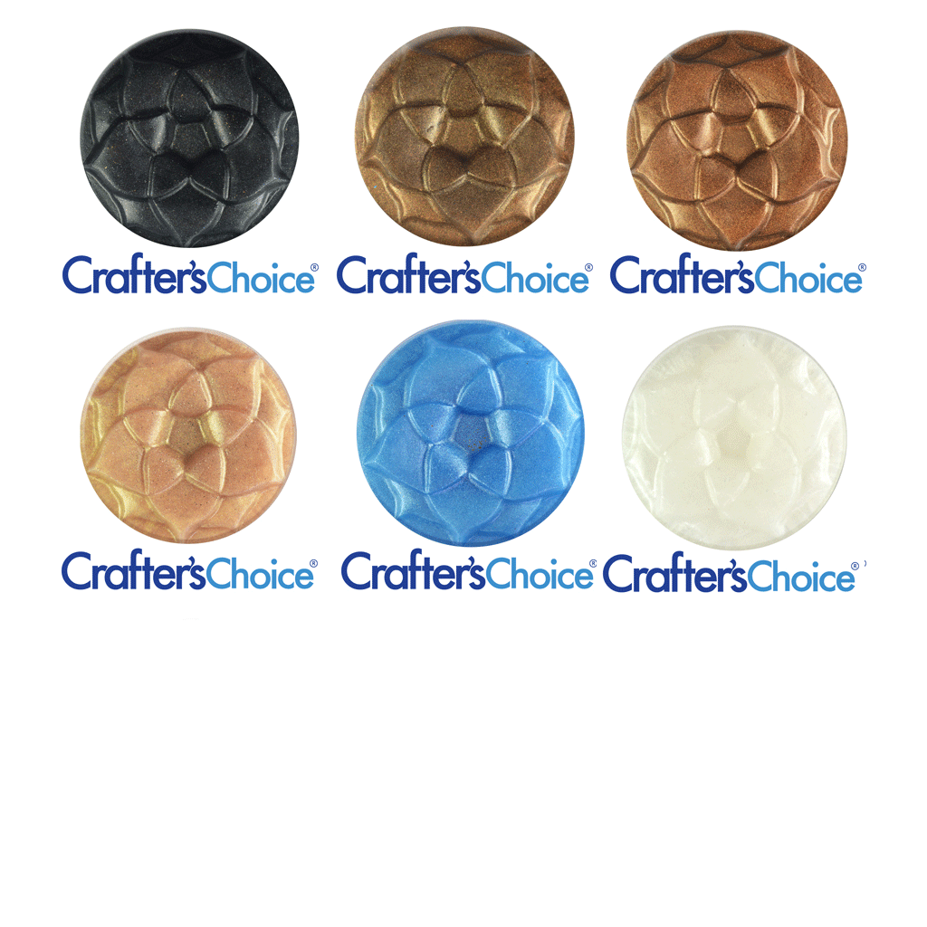 Crafters Choice™ Best Eyeshadow Colors Mica Powder Sample Set