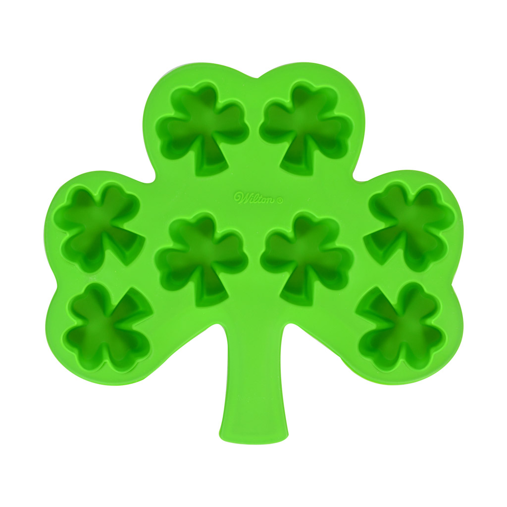 Wilton Shamrock Silicone Mold Crafter S Choice