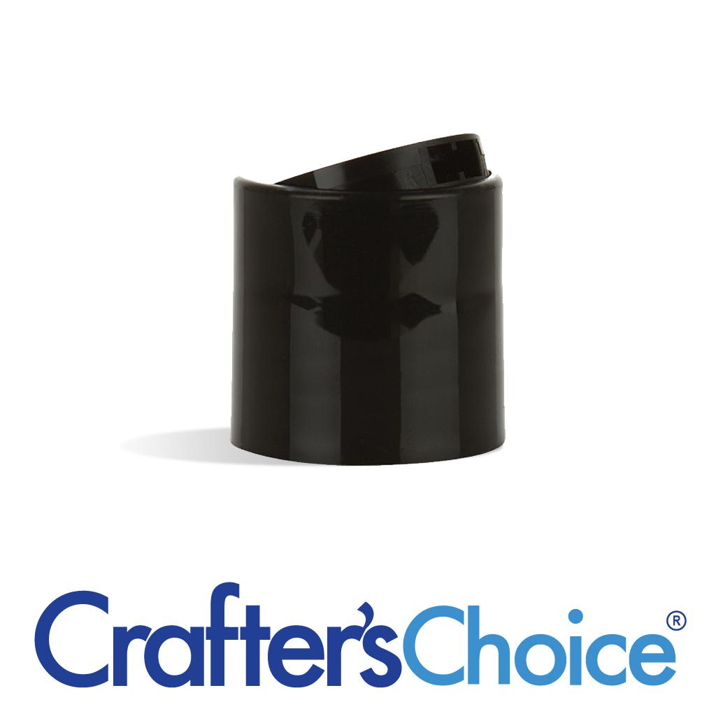 ca1a682c2a418 28 410 Black Smooth Disc Top Cap - Wholesale Supplies Plus