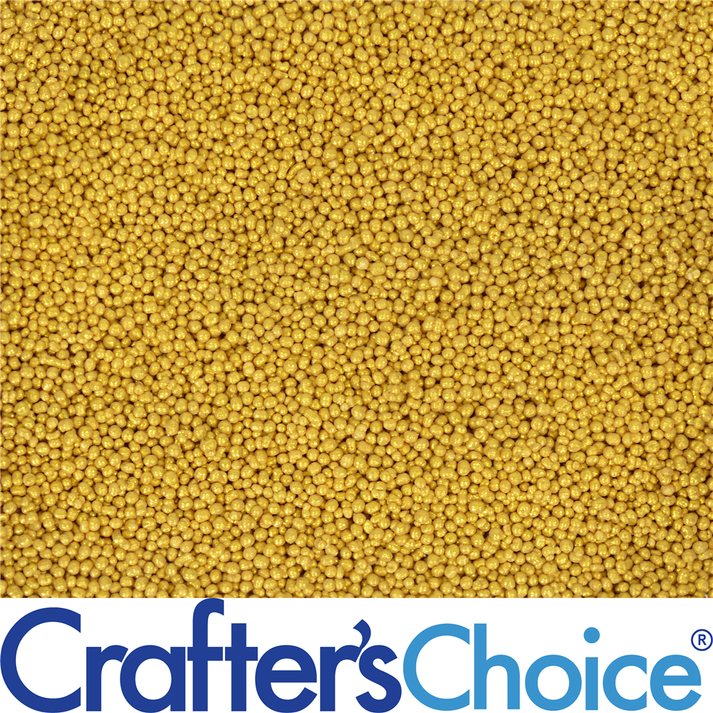 Crafter's Choice™ Vita Burst Bead - Gold w/Jojoba