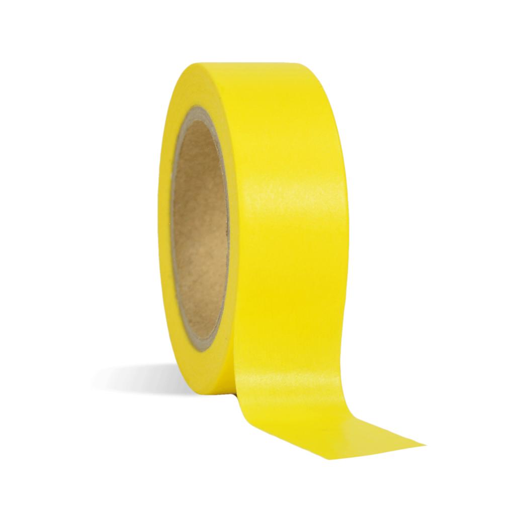 Yellow Washi Tape - Wholesale Supplies Plus