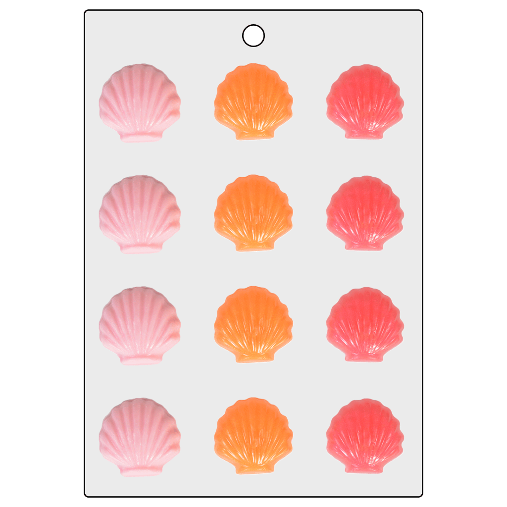 Life Of The Party™ Shells Mini Mold (LOP 23)