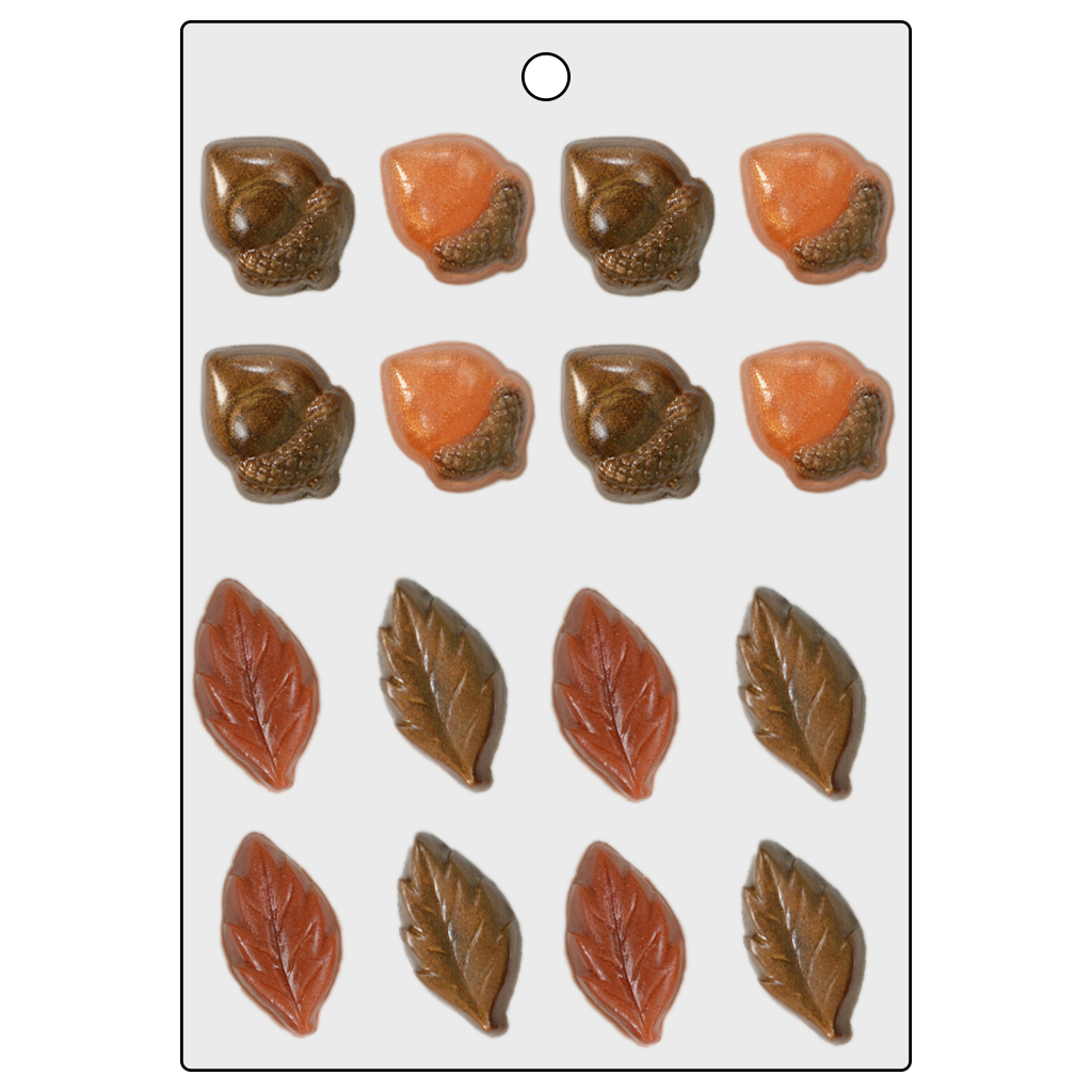 Life Of The Party™ Acorns and Leaves Mini Mold (LOP 25)
