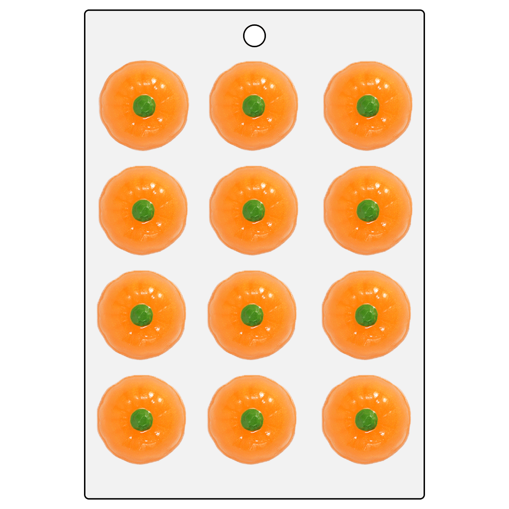 Life Of The Party™ Pumpkin Top Mini Mold (LOP 36)