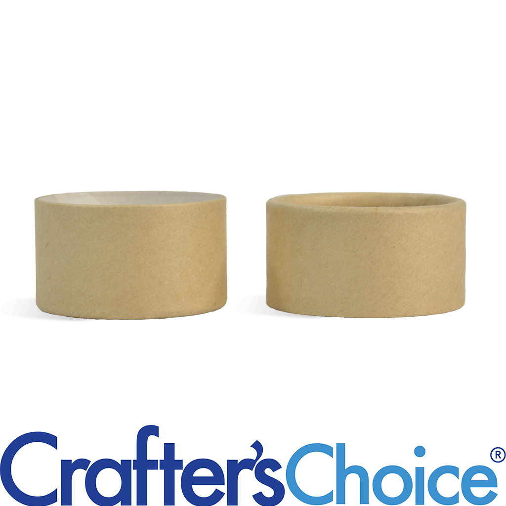 Crafters Choice™ 0 5 oz Paperboard Jar & Fitted Cap Set
