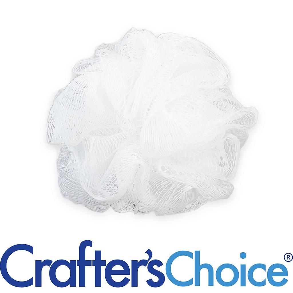 Crafters Choice™ Premium Nylon Puff - Small, White