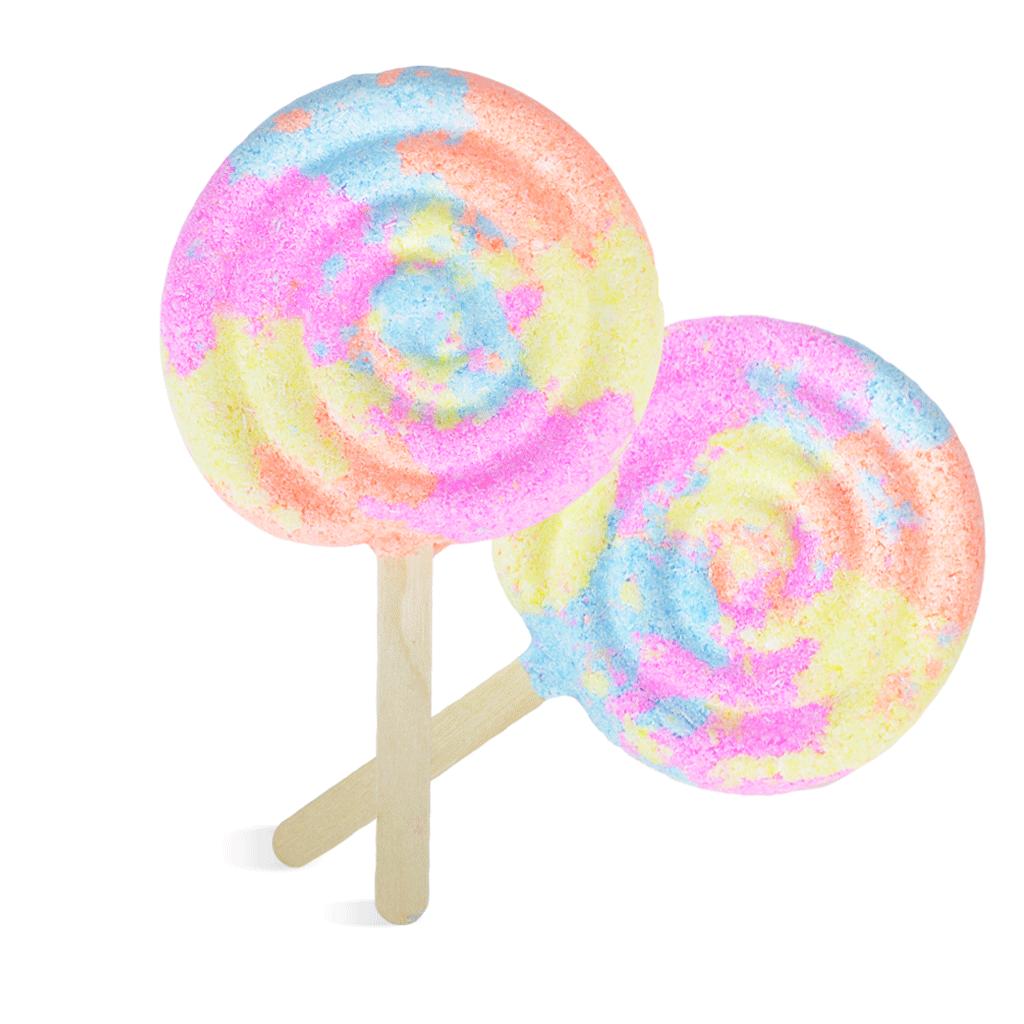 Rainbow Lollipop Bubble Wand Kit