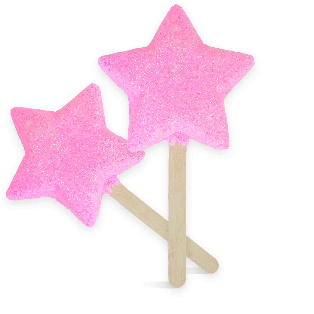 Sparkle Star Bubble Wand Kit