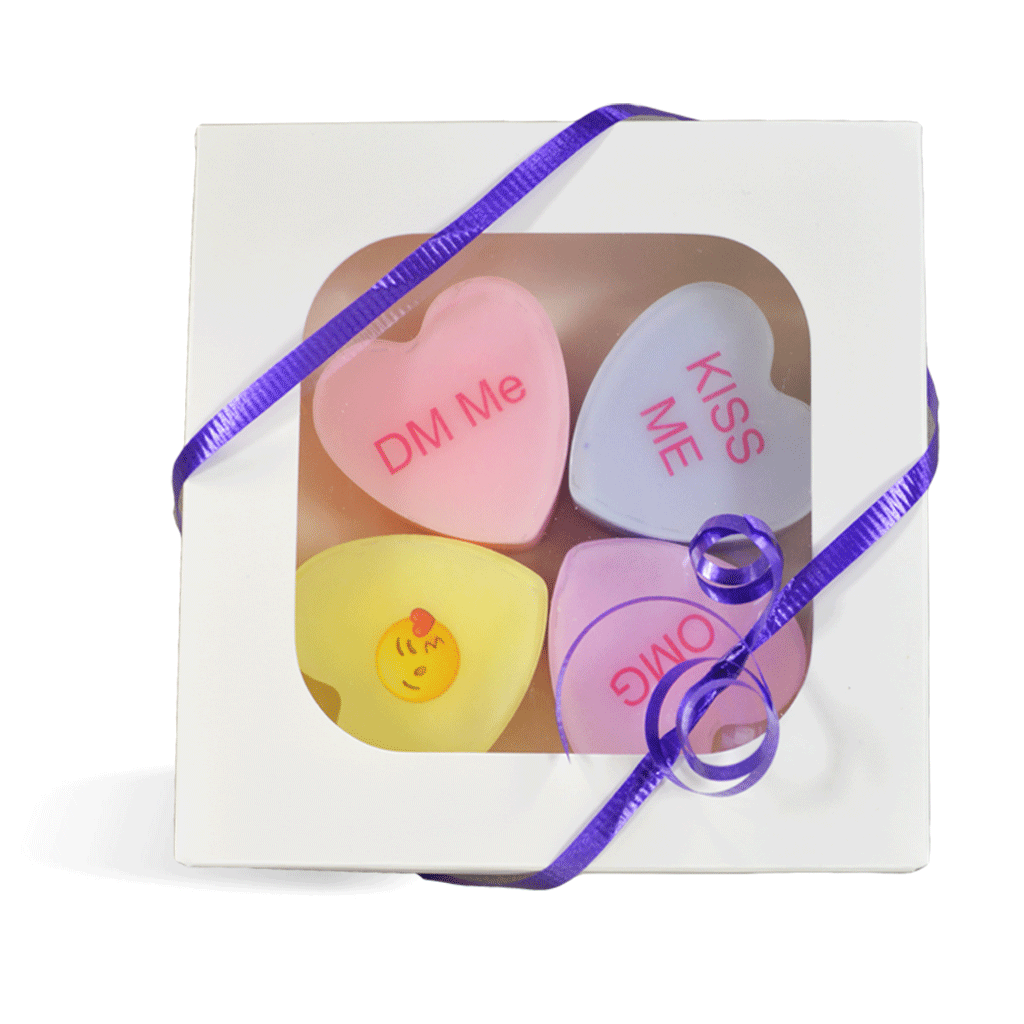 Conversation Hearts MP Soap Kit