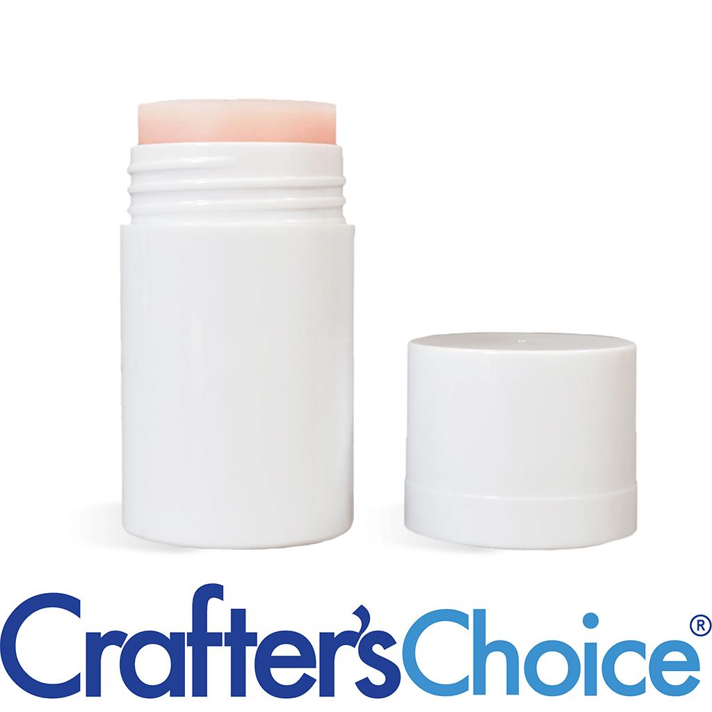 Crafter's Choice™ 01 oz White Push Up Stick & Top Set