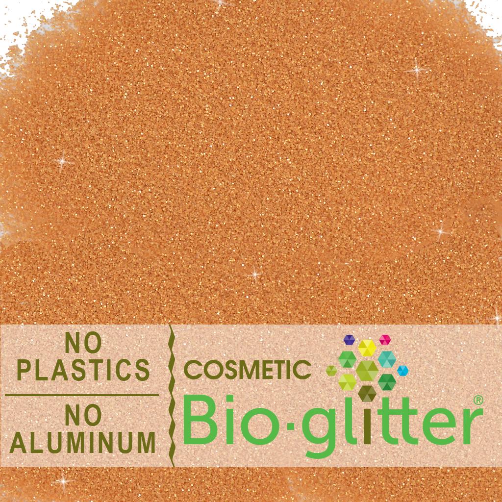 Bio-Glitter (Aluminum Free) -  008 Hex, Copper - Wholesale Supplies Plus