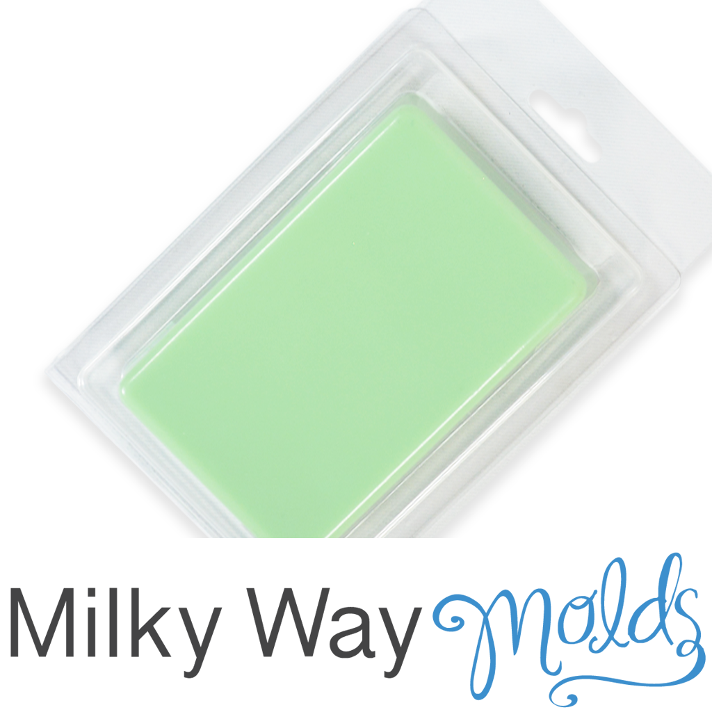 Milky Way™ Plain Rectangle Clamshell with Hinged Lid
