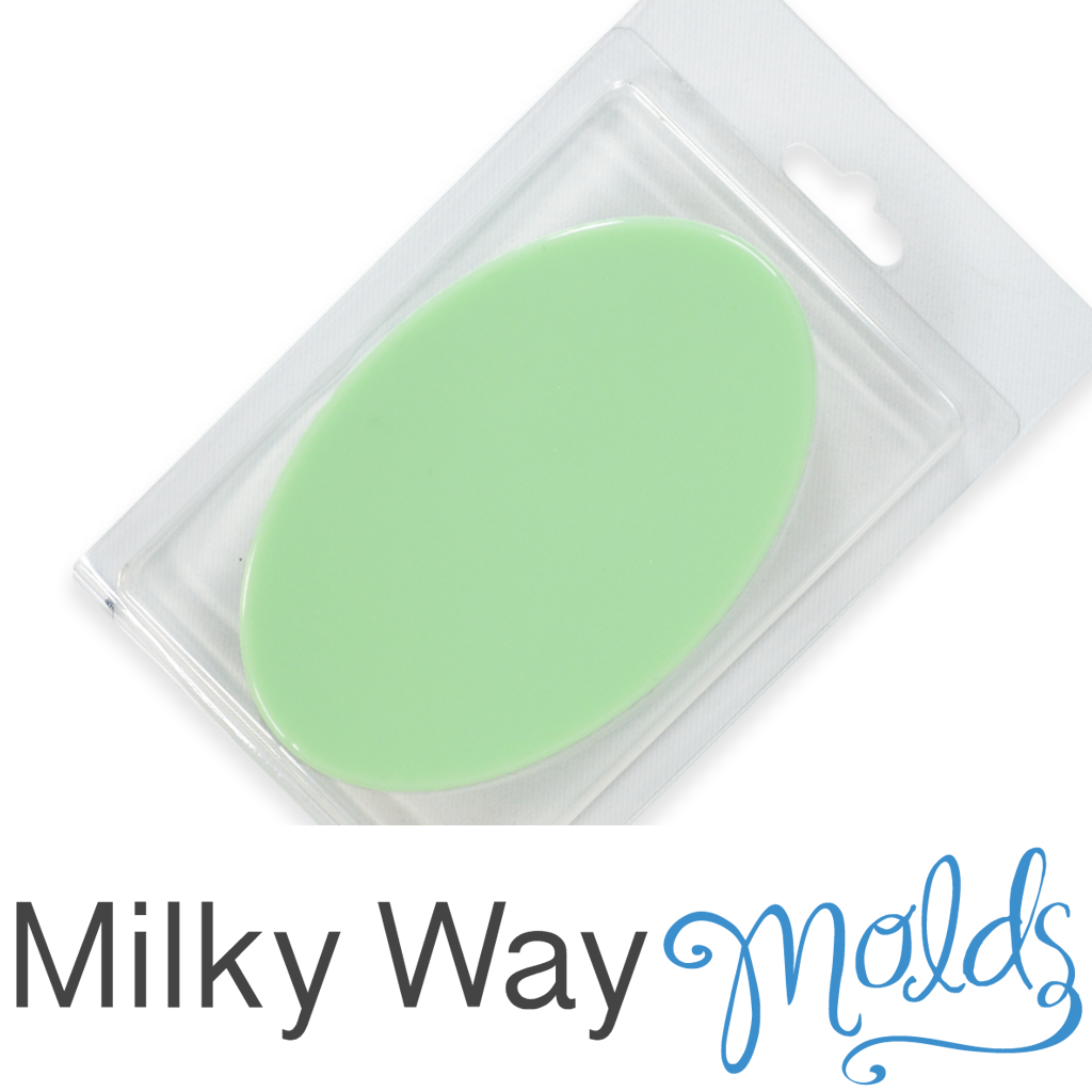 Milky Way™ Plain Oval Clamshell with Hinged Lid