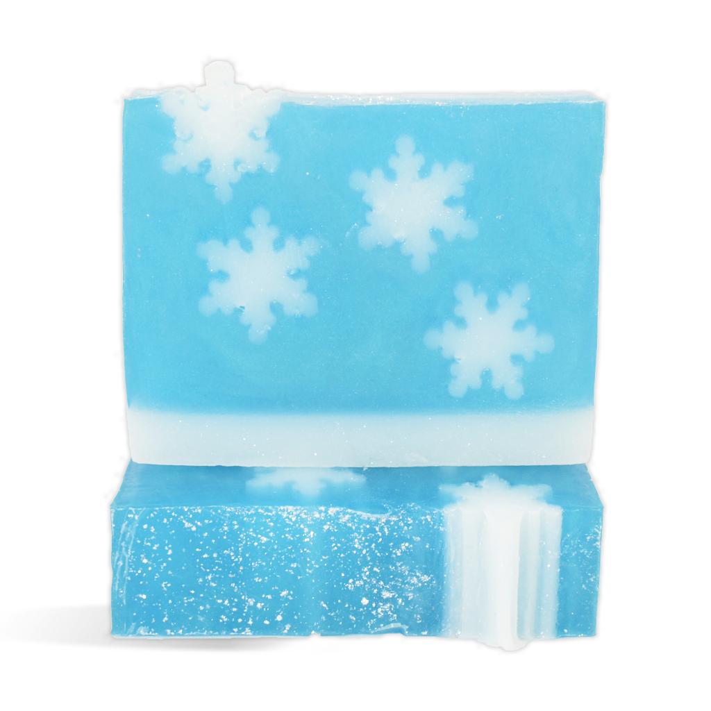 Falling Snowflake MP Soap Loaf Kit