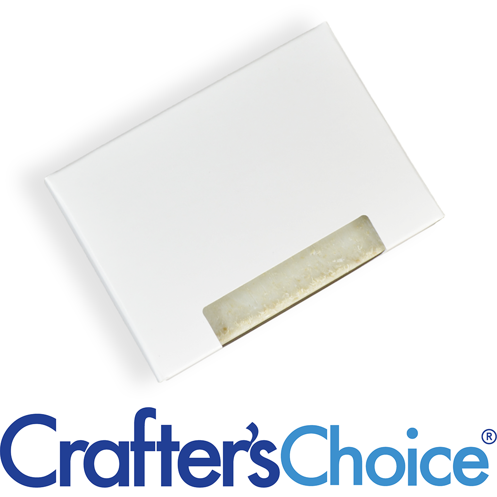 Crafter's Choice™ Soap Box - Top Window (WHITE COLOR)