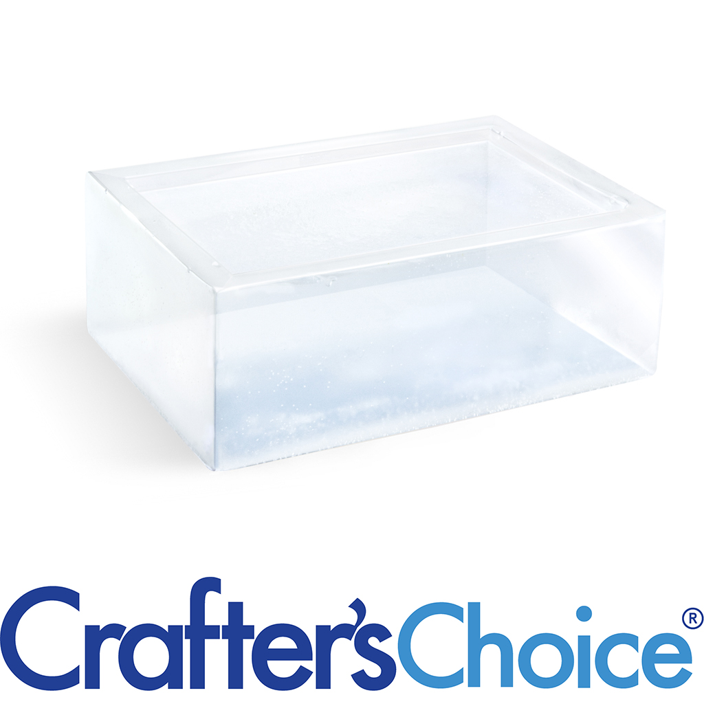 Crafters Choice™ Premium Crystal Clear Soap Base - 2 lb Tray