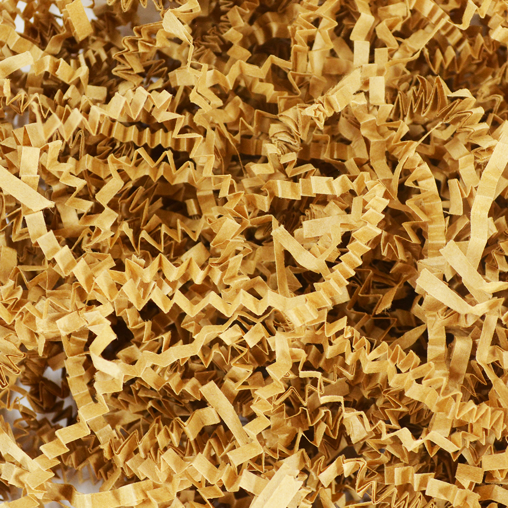 Crinkle Paper Filler - Brown