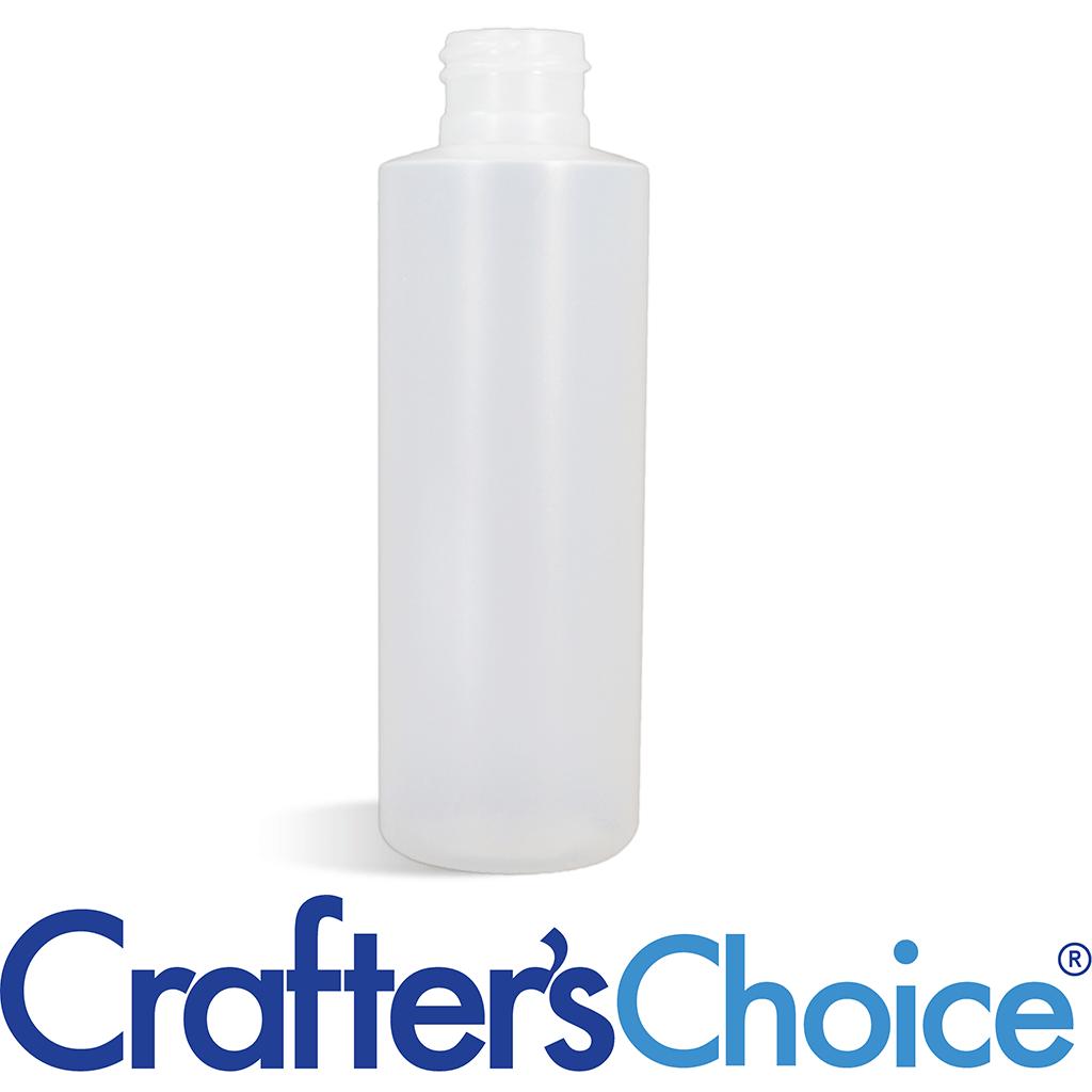 16 oz Natural Cylinder Round Bottle 24/410