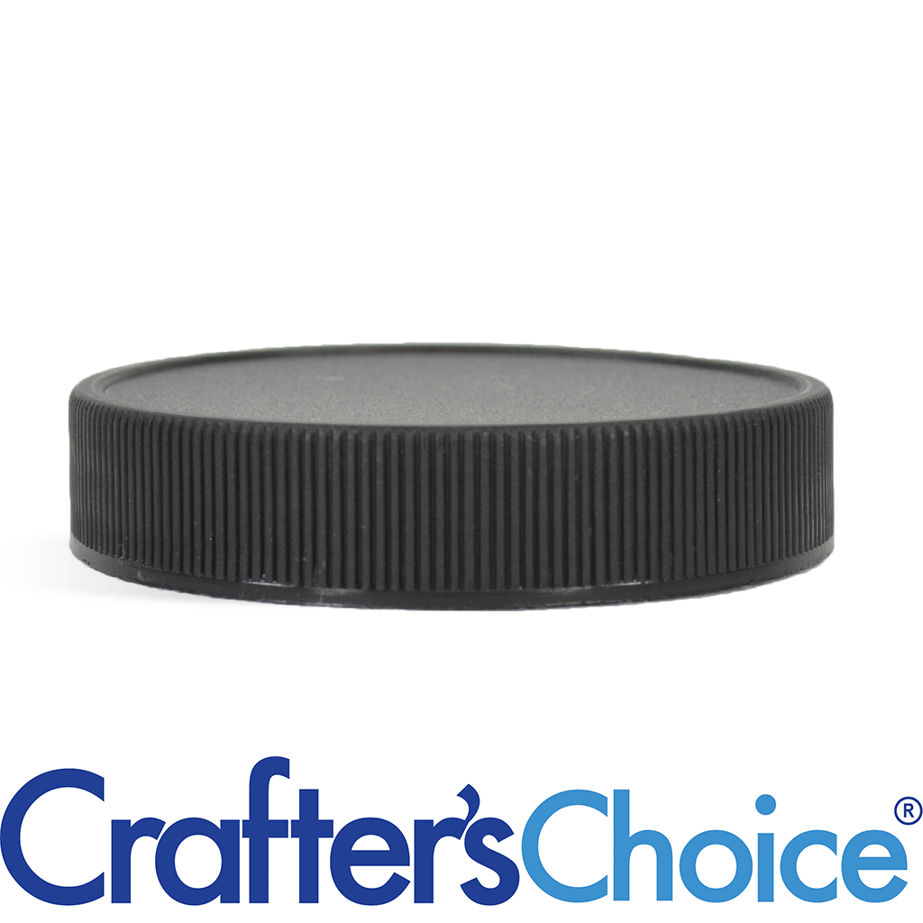 43/400 Black Ribbed Top Cap - F217 Liner