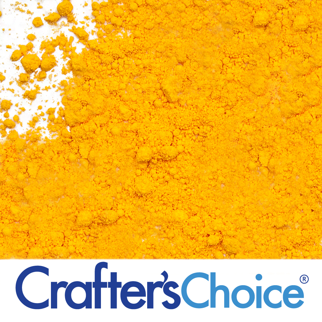 Crafter's Choice™ Bath Bomb Yellow Powder Color