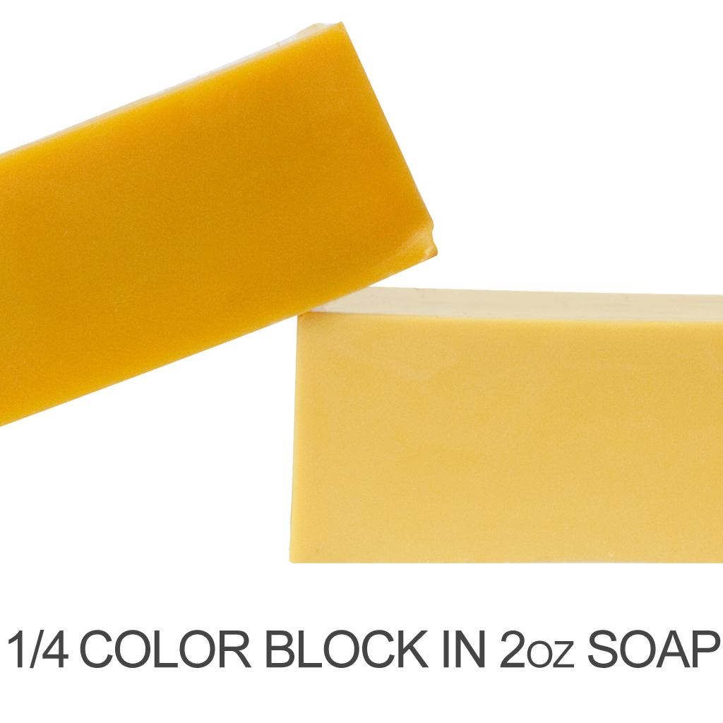 Crafters Choice Matte Yellow Soap Color Blocks