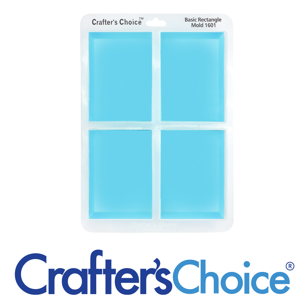 Crafter's Choice™ Rectangle Basic Silicone Mold 1601