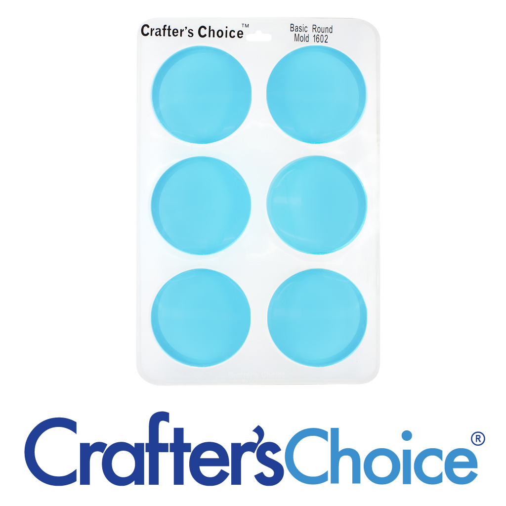 Crafters Choice Round Basic Silicone Mold 1602