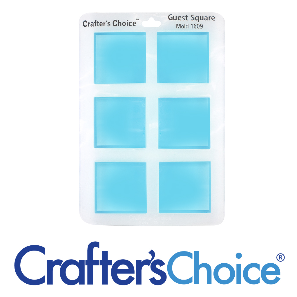 Crafter's Choice™ Square Guest Silicone Mold 1609