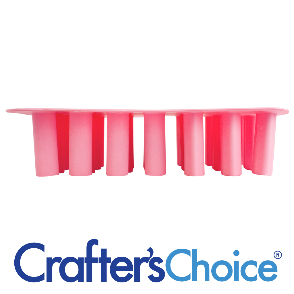 Crafters Choice™ Tube Mold: Hearts & Lips Mini Silicone Mold 1901