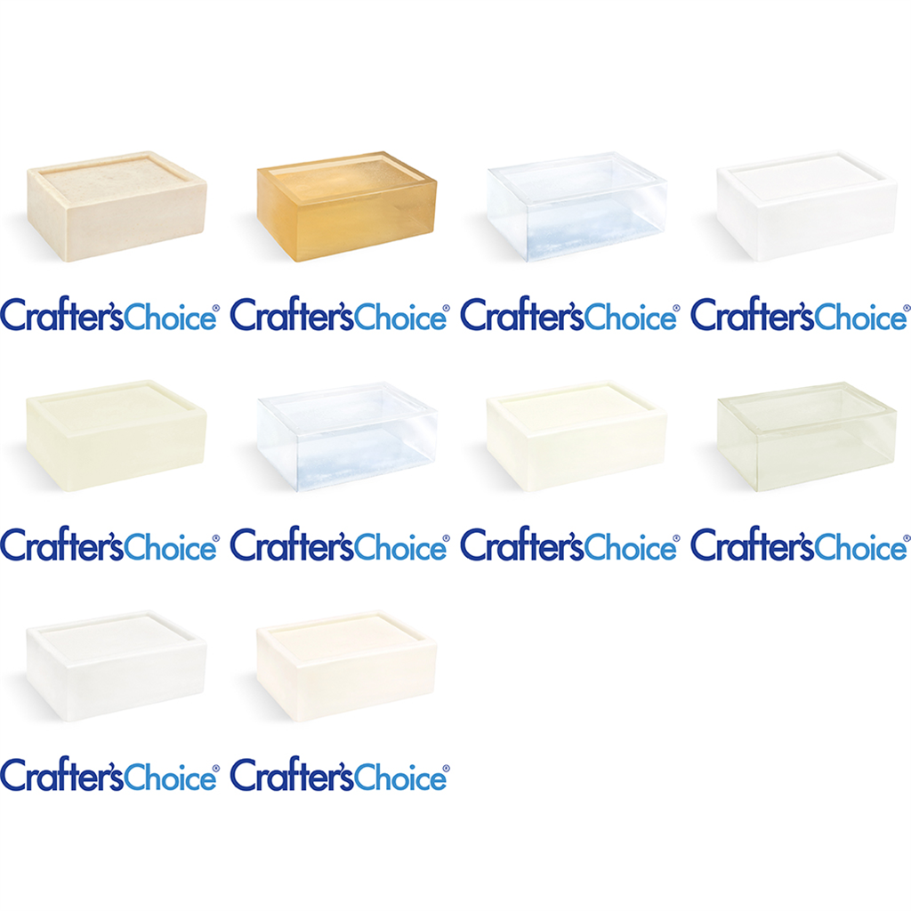 Crafter's Choice™ Best Seller MP Soap Base Sample Kit