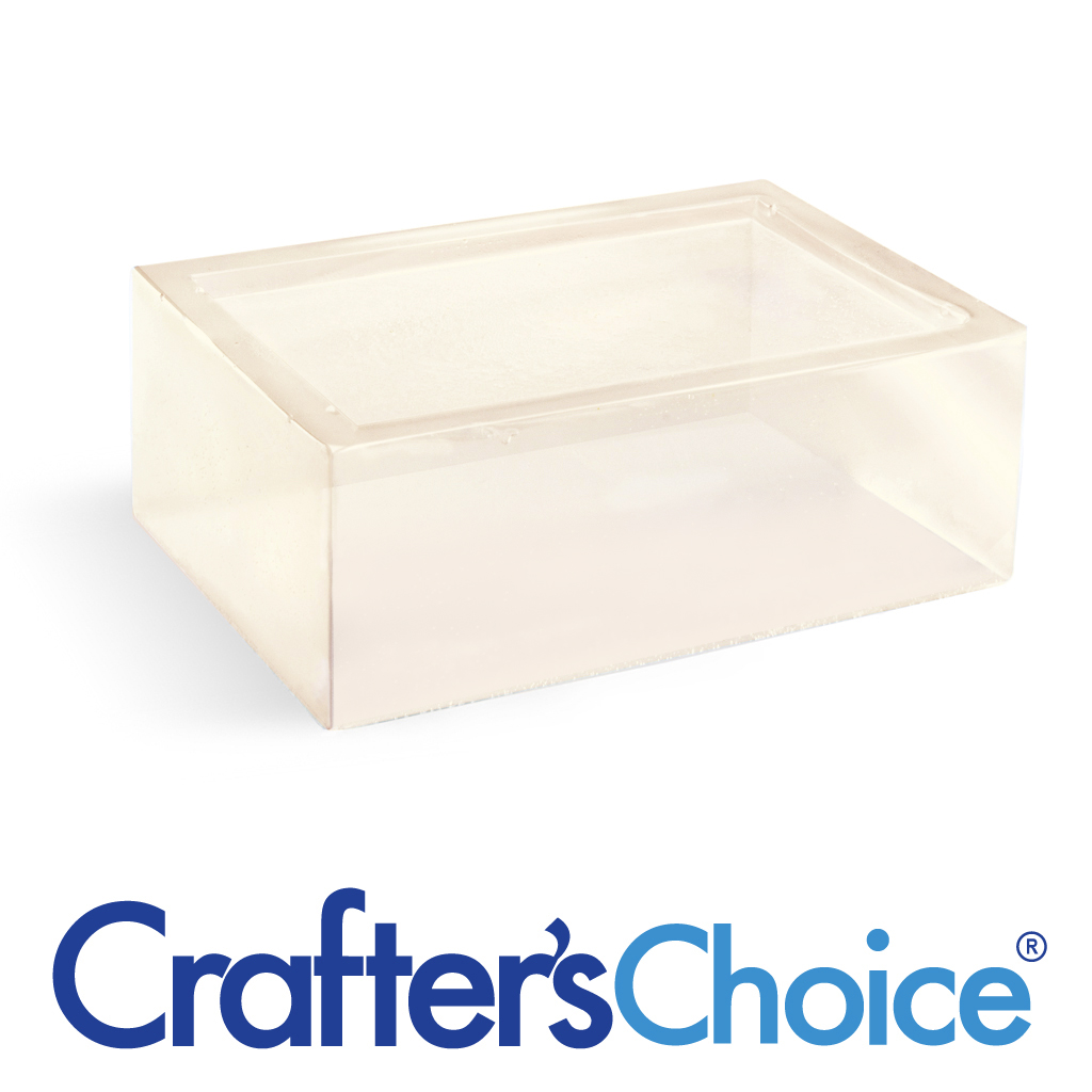 Crafters Choice™ Detergent Free Clear MP Soap24 lb Block