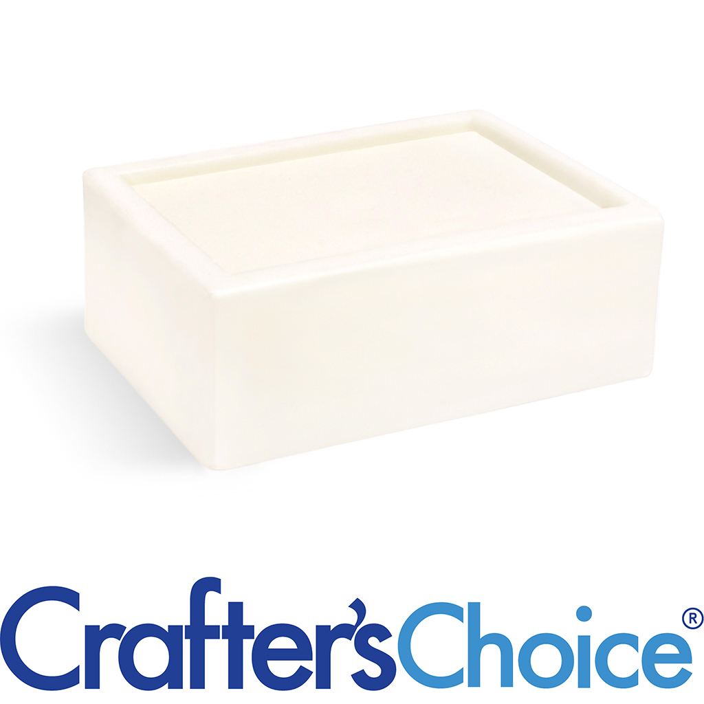 Crafters Choice™ Detergent Free White MP Soap Base- 2 lb Tray