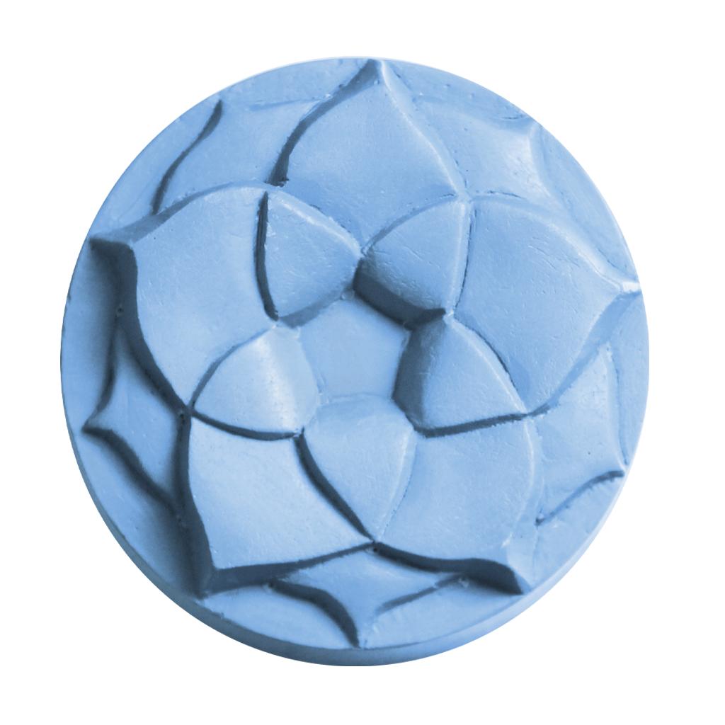 Milky Way™ Lotus Blossom Small Round Soap Mold (MW 158)