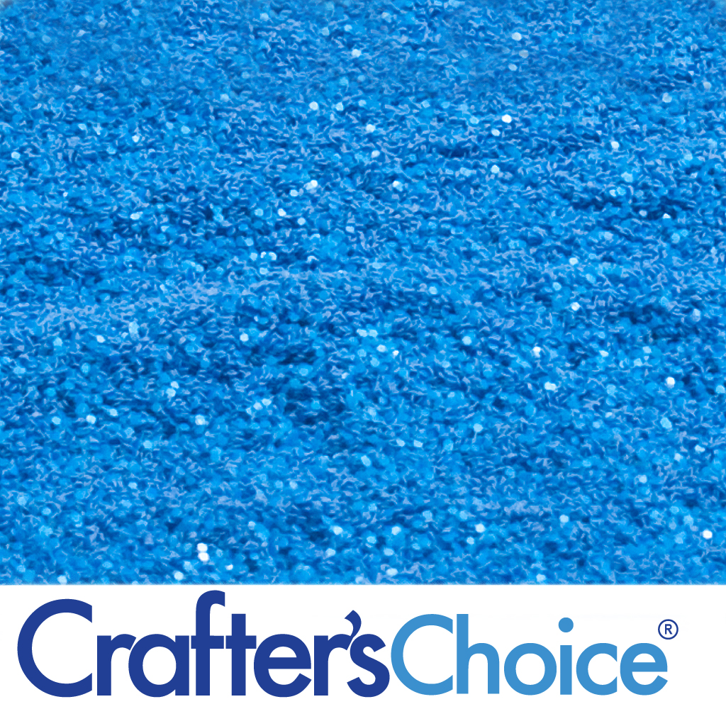 Crafters Choice™ Traditional - Caribbean Blue Glitter - Wholesale Supplies  Plus