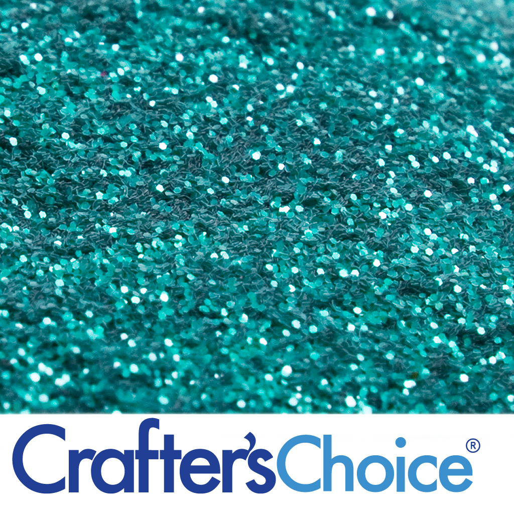 Crafters Choice Turquoise Green Glitter Wholesale
