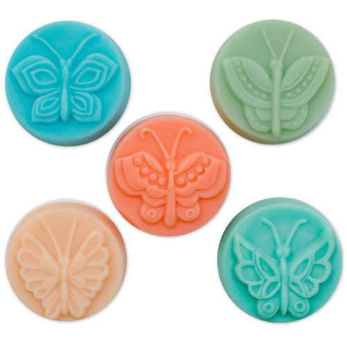 Milky Way™ Butterfly 5 Guest Soap Molds (MW 36)