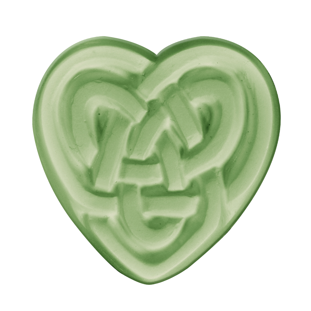 milky way u2122 celtic heart soap mold  special order