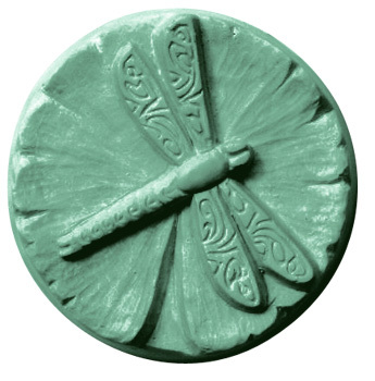 Milky Way Lilypad Dragonfly Soap Mold Mw 120 Wholesale Supplies Plus